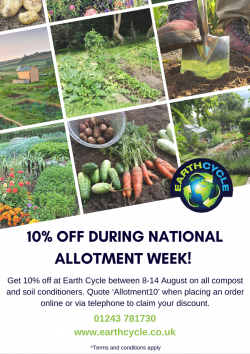 National Allotment Week Poster